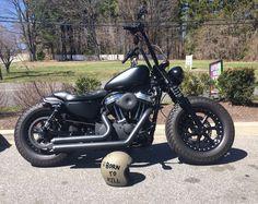 custom Harley Davidson sportster 48