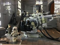 https://flic.kr/p/Cf1obC | Death Star Continues | Just finished my gunner room in my Death Star MOC, just in time for Bricks LA.