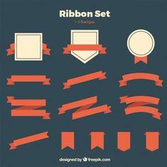 Ribbons-set