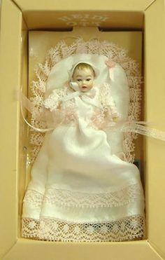 Maison de poupées miniature 1:12th échelle Blanc Lacets Bottes