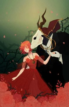M Anime, Anime Love, Anime Art, Chise Hatori, Elias Ainsworth, The Ancient Magus Bride, Card Captor, Arte Sketchbook, Fan Art