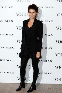 Isabeli Fontana à la soirée Vogue 100