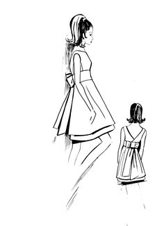 1960 sewing pattern, a nice dress for a wedding or cocktail party