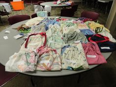 Dresses for Haiti taken to convention FBC donated fifty.