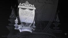 Chrome Silver Liverpool FC Logo by kitster29.deviantart.com