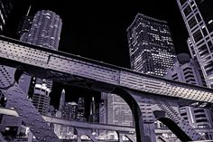 Clark Street bridge | Chicago | neverphoto.com