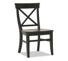 Aaron Side Chair, Black  Breakfast nook