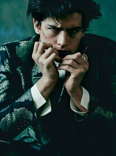 Cole Sprouse for L'Uomo Vogue February issue