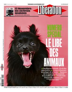That time I was on the front cover of Liberation magazine in France.