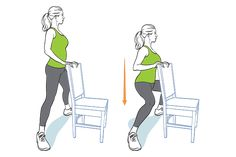 Fitness Workouts, Yoga Fitness, At Home Workouts, Health Fitness, Squat Workout, Pilates Workout, Pilates Reformer, Chair Workout, Senior Fitness
