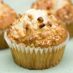 Muffins o magdalenas de plátano y nueces para los niños