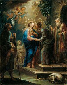 60+ mejores imágenes de Visitación de la Virgen a su prima Isabel,  Visitation of the Virgen to Elizabeth. | juan el bautista, virgen, virgen  maría