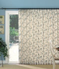 Another possible sliding glass door curtain