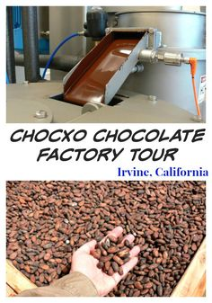 Do you love chocolate?  Then check out the original ChocXO Chocolate Factory in Irvine, CA.  They offer chocolate tastings, a behind the scenes tour of the chocolate making process and field trips for school and scout troops.