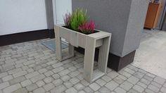 Flowerbed made from terrace boards #flowerbed #flower #handmade #idea #project