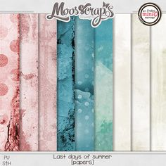 - Didinou Scrap last days of summer - Mini'o - By Caro Moosscrap Moses http://www.oscraps.com/shop/Guest-MoosScraps/