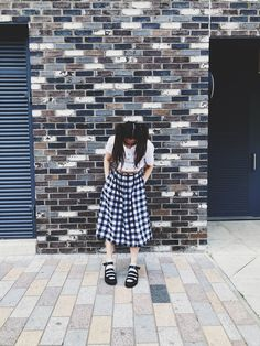 Dodie Clark, My Vibe, Present Day, Midi Skirt, Most Beautiful, Shirt Dress, Sandals, Skirts, Outfits