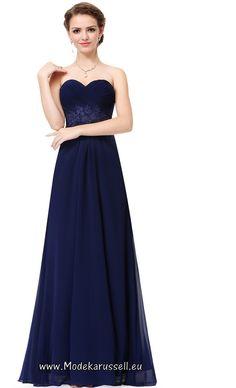 Trend Bustierkleid Tertia Blau