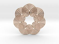 0556 Motion Of Points Around Circle by KOSEKOMA on Shapeways. Learn more before you buy, or discover other cool products in Mathematical Art. Wicker, 3d Printing, Prints, Stuff To Buy, Geometry, World, Loom