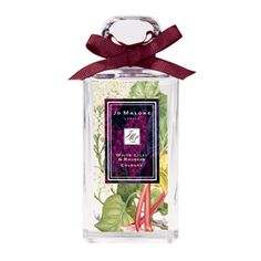 Jo Malone White Lilac & Rhubarb -- I nabbed a bottle of this while en route home from Italy last September. Big Pores, My Beauty Routine, Oily Scalp, Message In A Bottle, Jo Malone, Perfume Collection, Vintage Perfume Bottles, New Fragrances, Smell Good
