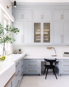 2021 Home Design and Color Trends Cabinet Paint Colors, Kitchen Paint Colors, Exterior Paint Colors, Paint Colors For Home, Blue Cabinets, Kitchen Cabinets, Best Paint For Glass, Trim Paint Color, Trending Paint Colors