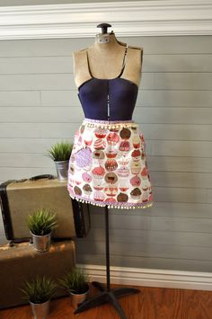 Silly Cupcake Hostess Apron by AdamRabbit on Etsy, $20.00