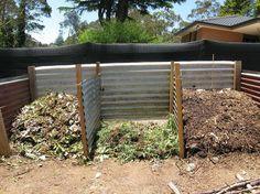 Corrugated Iron Compost Bay - Update - Progress So Far! corrugated iron compost bay update progress so far, composting, go green, Compost bay progress