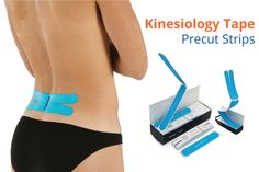 K Tape Precut Strips - The Ultimate in Convenience