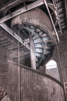 Photograph - Wood Spiral Staircase Infrared by Jane Linders , Infrared Photography, Framed Prints, Canvas Prints, Spiral Staircase, Back In The Day, Wood Print, Fine Art America, Really Cool Stuff, Wall Art