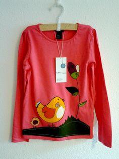 """Camiseta para niña """"Mamá gallina"""" / Mami_moon - Artesanio"""