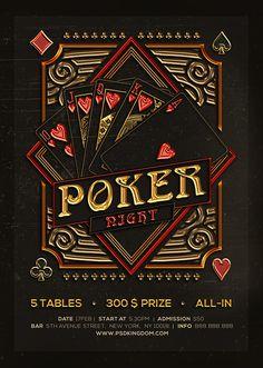 Flyers on behance poker night, casino night, ribbon design, jack black, Casino Royale, Casino Party Decorations, Casino Theme Parties, Jack Black, Casino Quotes, Casino Table, Pokerface, Poker Night, Casino Night Party