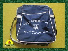 Retro Travel Shoulder Bag Pauwels Travel by KressHillVintage, $20.00