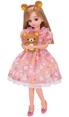 Takara Tomy Licca Doll Rika-chan Ld-15 Rilakkuma X Licca-chan | eBay