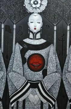 (detail) SENTIMENT B -- Qiu Shengxian (邱胜贤; b1955, Jiangxi Province, China) | PIN made by RomANikki