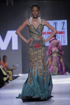 Highlights from Glitz Africa Fashion Week 2014  Vlisco Presents:  Brand: VHM