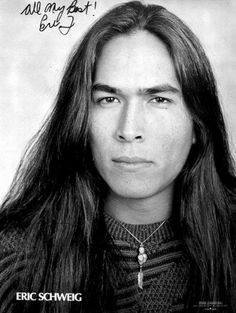 Eric Schweig who played the Indian Brother in Last of the Mohicans... Wow!!