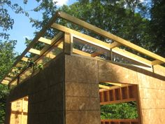 Complete Shed plans are now available. Check out the latest post on diyatlantamodern. here: I just completed the first phase of my shed project. I found inspiration, t… Diy Storage Shed Plans, Building A Storage Shed, Wood Storage Sheds, Shed Building Plans, Patio Storage, Building Ideas, Backyard Office, Backyard Sheds, Outdoor Sheds