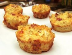 CAULIFLOWER BISCUITS AND BACON BITES