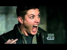 Kitten scares the hell out of Jensen Ackles (Dean Winchester) S04E06
