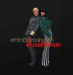 #LBD. La boutique de Jean: #HmBalmaination #LoveBalmain by jeancr874