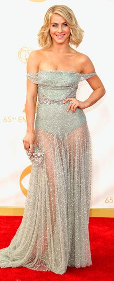 Julianne Hough in Jenny Packham: 2013 Emmy Awards