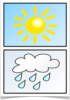 Weather Cards - Treetop Displays - A set of 12 A5 cards showing pictures of different types of weather. Excellent for getting children to identify the weather and describe it in their own words. Visit our website for more information and for other printable resources by clicking on the provided links. Designed by teachers for Early Years (EYFS), Key Stage 1 (KS1) and Key Stage 2 (KS2).