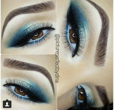 Make up is Art Another gorgeous look by pictureperfectbydina