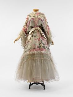 Evening dress, Designer: Zandra Rhodes (British, born 1940) Date: 1972 Culture: British Medium: silk, synthetic