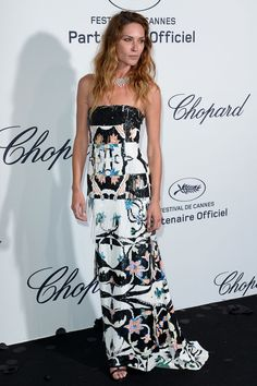 Erin Wasson at Chopard party