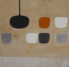 William Scott, Still Life with Orange Note, 1970