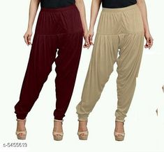 Checkout this latest Patialas Product Name: *Fabulous Women's Patiala Pants Combo (Pack Of 2)* Fabric: Cotton Viscose  Waist Size: XL - 34 in XXL - 36 in  Length: Up To 40 in Type: Stitched Description: It Has 2 Pieces Of Women's Patiala Pants Pattern: Solid Country of Origin: India Easy Returns Available In Case Of Any Issue   Catalog Rating: ★4 (1170)  Catalog Name: Sana Fabulous Women's Patiala Pants Combo Vol 8 With CatalogID_813672 C74-SC1018 Code: 853-5455619-168