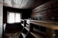 Sauna Design, Home And Living, Dining Bench, Entryway Tables, Interior Design, Furniture, Saunas, Finland, Home Decor