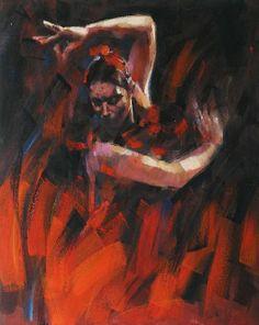 #painting #dancer #flamenco