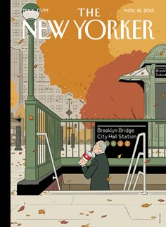 ADRIAN TOMINE - Last Straw The New Yorker, November 18, 2013